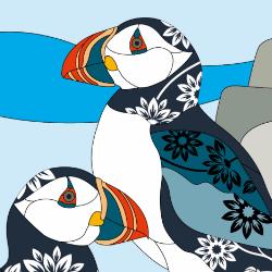 グラフィックデザイン ペンギン