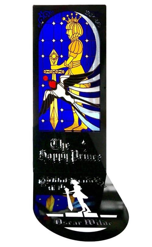 ステンドグラス作品 幸せの王子のパネル1